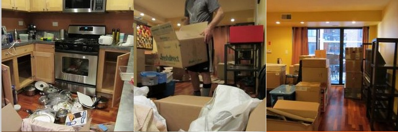 Packing fixing storing moving troupinaround for A bedroom in the wee hours of the morning